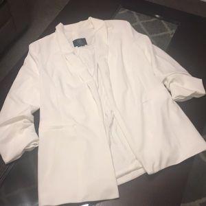 Fashion nova ivory blazer